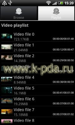Программа для Google Android BSPlayer