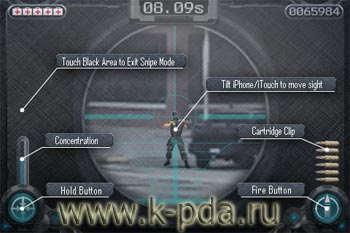 игра дляiPhone и iPod Touch ISniper