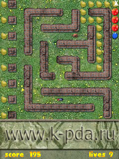 Игра FruitsDay для кпк и коммуникаторов