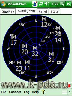 GPS Программа VisualGPSce