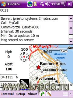 GPS программа FindME
