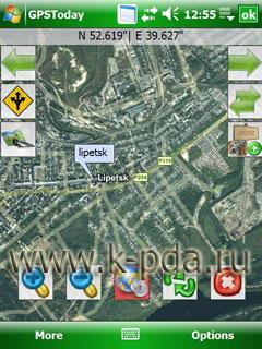 gps карты на GeoTerrestrial GPSToday