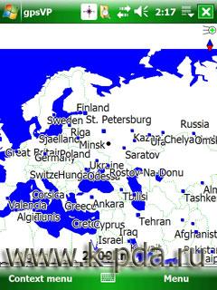 gpsVP программа для GPS навигации