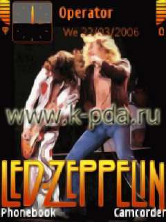 Тема для Nokia s60 nth Led Zeppelin
